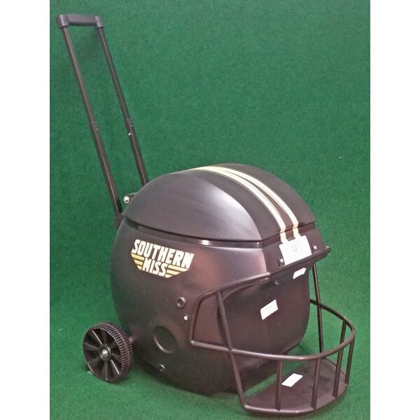 40 Qt. Southern Miss Football Helmet Rolling Cooler by Coolr Coolrz