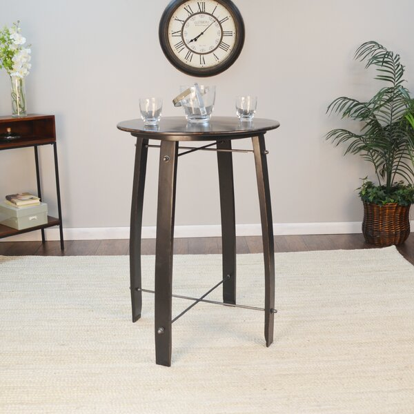 Mountainside 26 Round Pub Table by Gracie Oaks