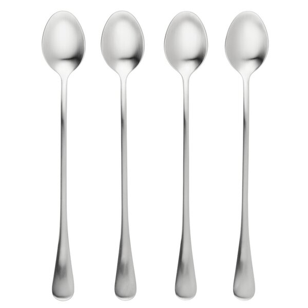 Stainless Steel Latte Spoon (Set of 4) by BonJour