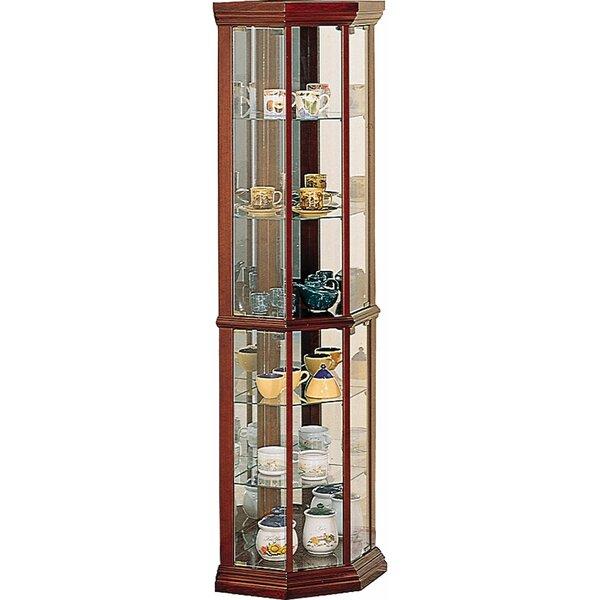 Benton City Corner Curio Cabinet by Wildon Home ®