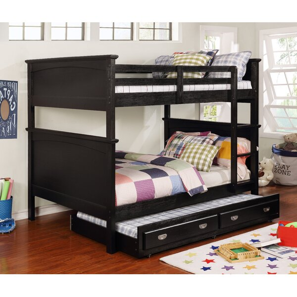 Sultan Full Over Full Bunk Bed with Trundle by Harriet Bee