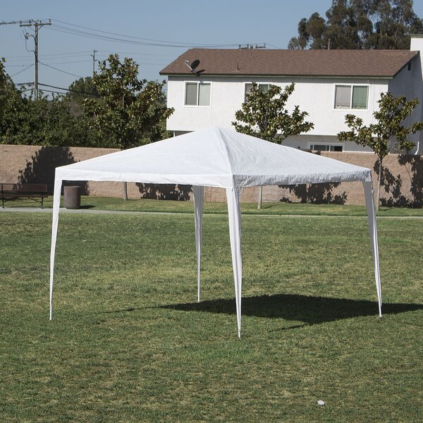 10 Ft. W x 10 Ft. D Steel Canopy by Belleze