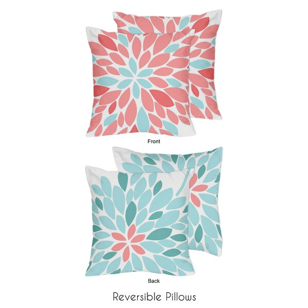 Emma Throw Pillow (Set of 2) by Sweet Jojo Designs