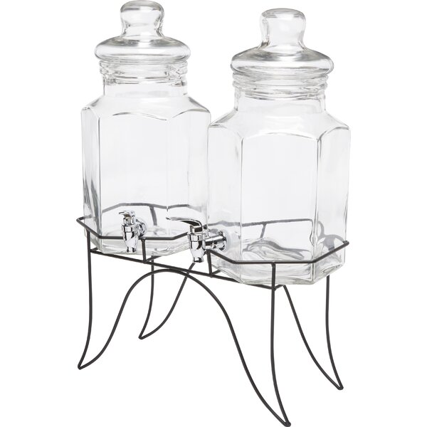 Doppio Double Dispenser by Circle Glass