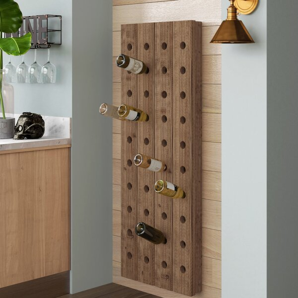 Wolpert 40 Bottle Wall Mounted Wine Bottle Rack By Trent Austin Design