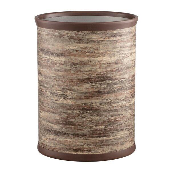 Nantwich Oval Steel Waste Basket by Fleur De Lis Living