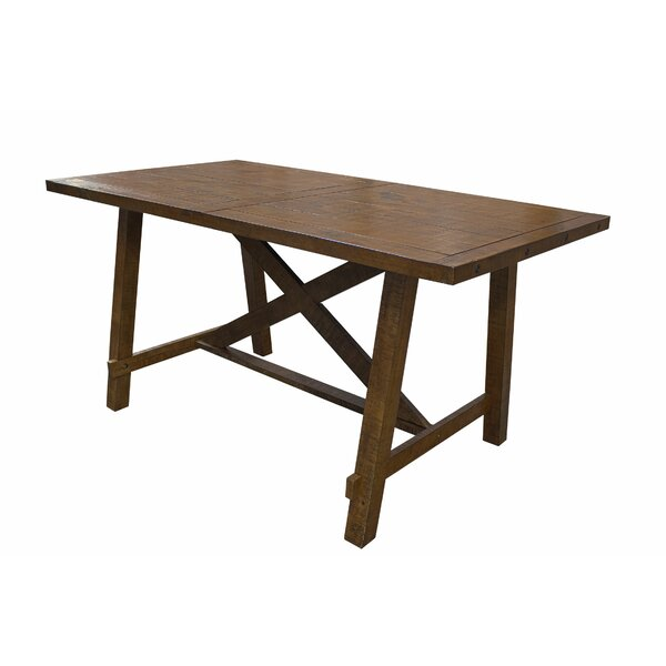 Counter Height Solid Wood Dining Table by BestMasterFurniture
