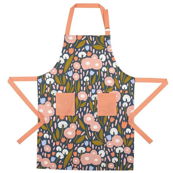 Floral Recollection Cotton Apron by Elizabeth Olwen