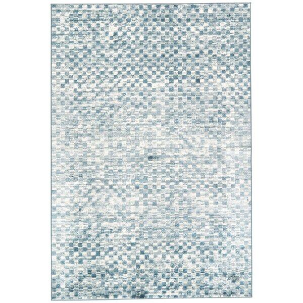 Sienna Blue/Gray Area Rug by Ebern Designs
