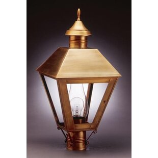 Boston 3-Light Lantern Head By Northeast Lantern Outdoor Lighting