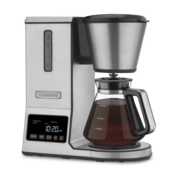8-Cup Glass Pour Over Coffee Maker by Cuisinart