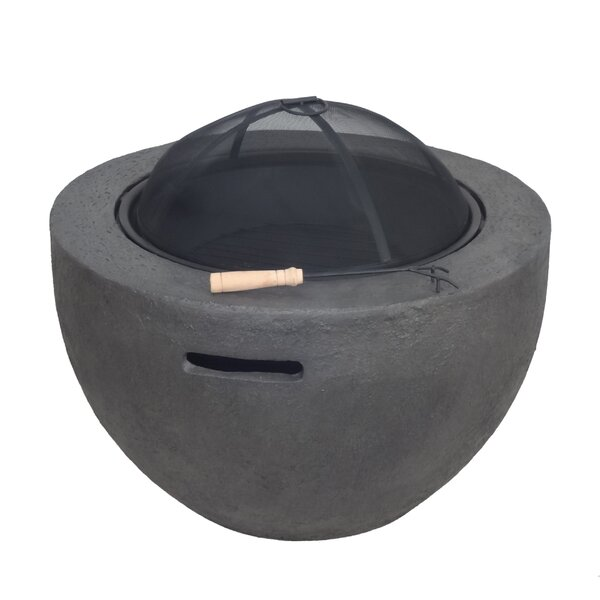 Stephen Concrete Wood Burning Fire Pit by Freeport Park
