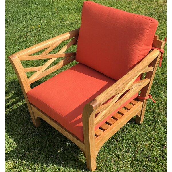 Lorenzo 6 Piece Teak Sunbrella Sofa Seating Group with Cushions by Longshore Tides