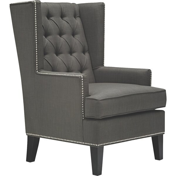 Aguilera Wingback Chair By Alcott Hill 2019 Sale