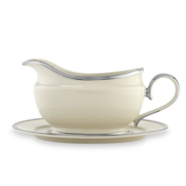 Solitaire Gravy Boat by Lenox