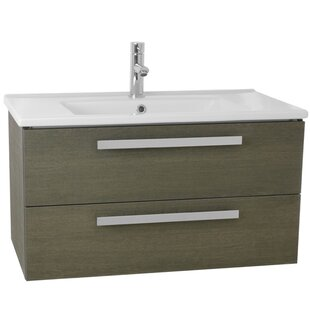 Compare & Buy Dadila 33 Single Wall Mount Bathroom Vanity Set By Nameeks Vanities