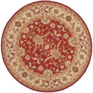 Helena Red/Ivory Area Rug