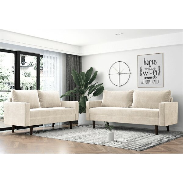 Parthenia 2 Piece Living Room Set By Corrigan Studio