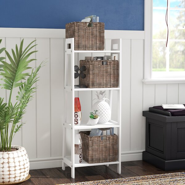 Review Groveport Storage Display Ladder Bookcase