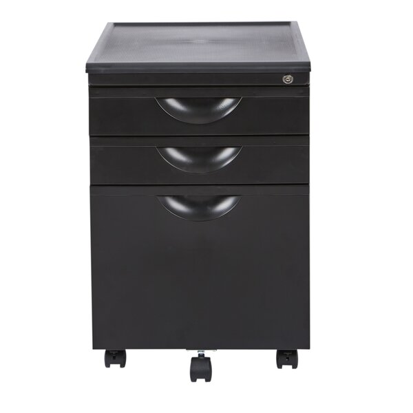 Lehto 3 Drawer Vertical Filing Cabinet by Symple Stuff