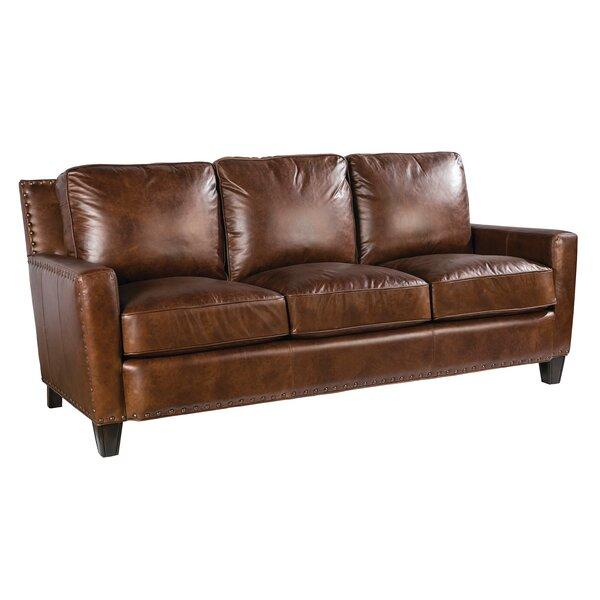 Navi Leather Sofa by Loon Peak