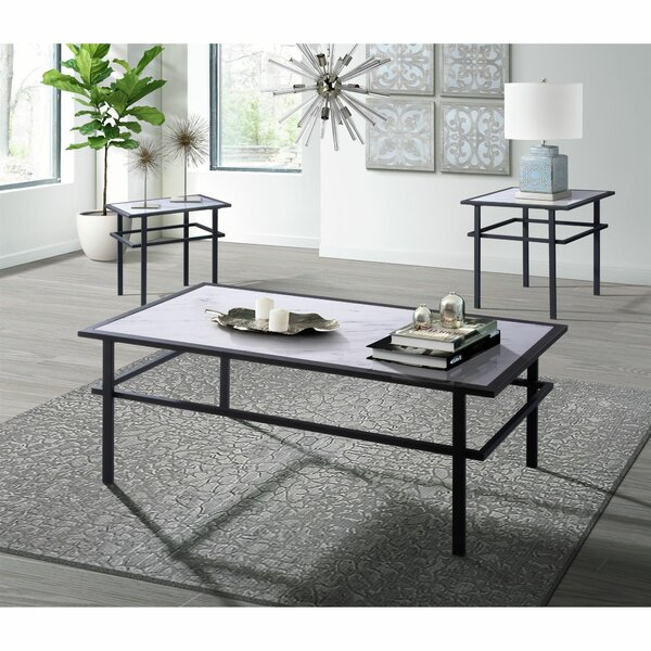 Rickards 3 Piece Coffee Table Set by 17 Stories 17 Stories