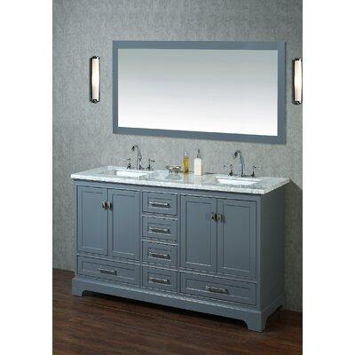 Double Sink Bathroom Vanity Set Base Product Photo