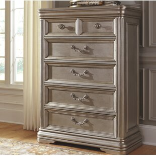 Goldberg 5 Drawer Chest By Fleur De Lis Living