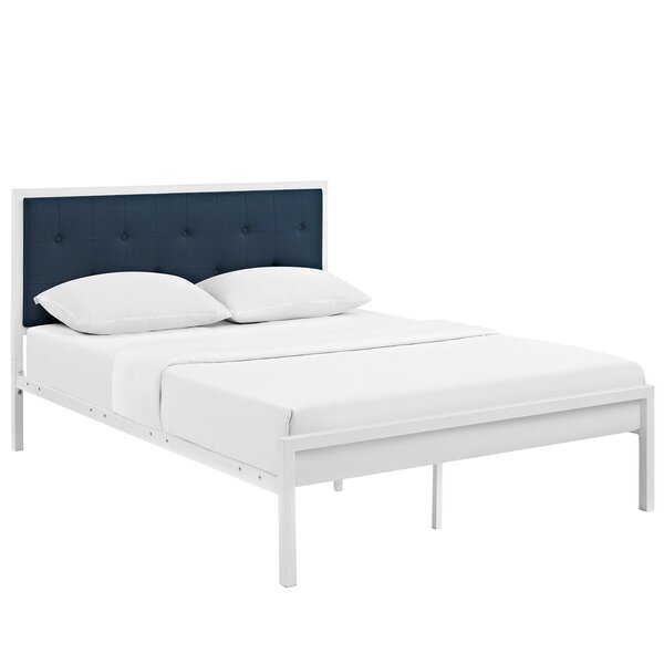 Lottie Upholstered Platform Bed by Modway