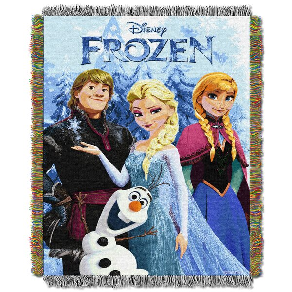 Disney Frozen Fun Tapestry Throw by Northwest Co.