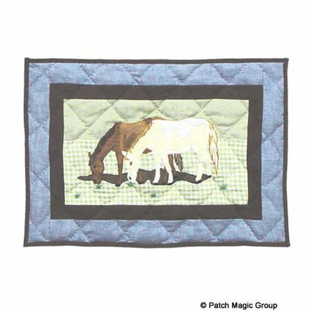 Horse Friends Placemat (Set of 4) by Patch Magic