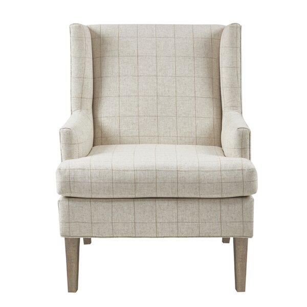 Martha Stewart Decker Wingback Chair by Martha Stewart Martha Stewart