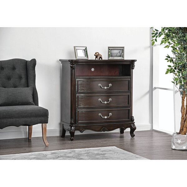 Pineview 3 Drawer Chest By Astoria Grand