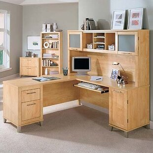 Check Prices Chase Collection 70 Desk Home Office Suite By Red Barrel Studio