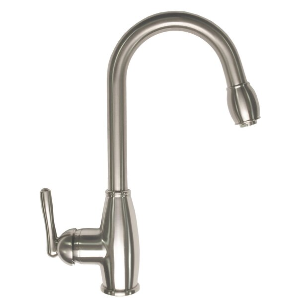 Pull-Down Touch Single Handle Kitchen Faucet by Zenvida