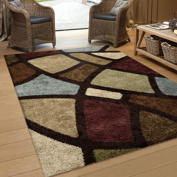 Osgood Brown Area Rug by Threadbind