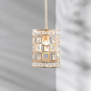 Affordable Price Kavya 1-Light Drum Pendant By Willa Arlo Interiors
