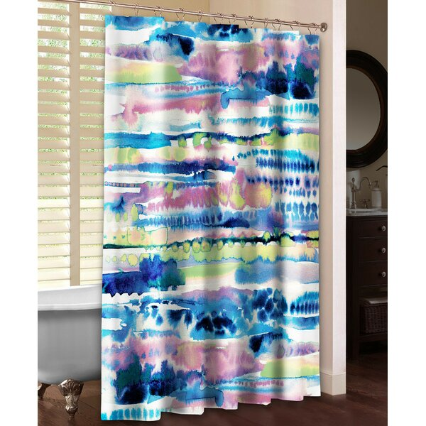 Silky Designs Shower Curtain by Laural Home