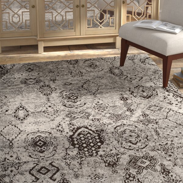 Merriam Hand Tufted Gray Area Rug by Bloomsbury Market