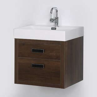 Compare & Buy 24 Wall Mounted Single Bathroom Vanity Set ByStreamline Bath