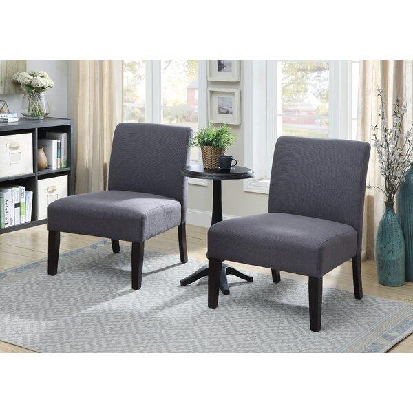 Gerner 3 Piece Slipper Chair Set by Ebern Designs