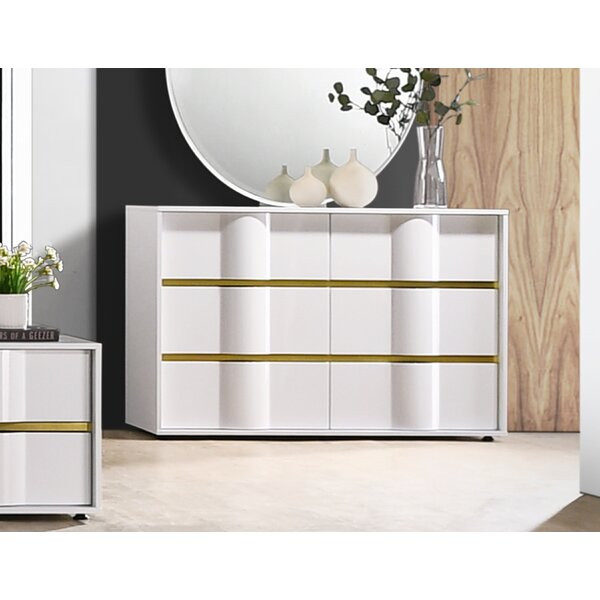 Marylyn 6 Drawer Double Dresser by Orren Ellis