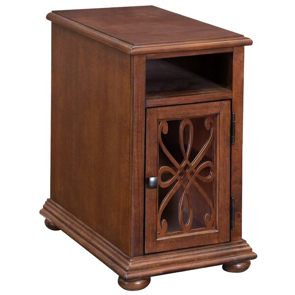 Bramhall Chairside 1 Door Accent Cabinet by Fleur De Lis Living