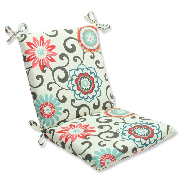 Pom Pom Play Indoor/Outdoor Chair Cushion by Pillow Perfect