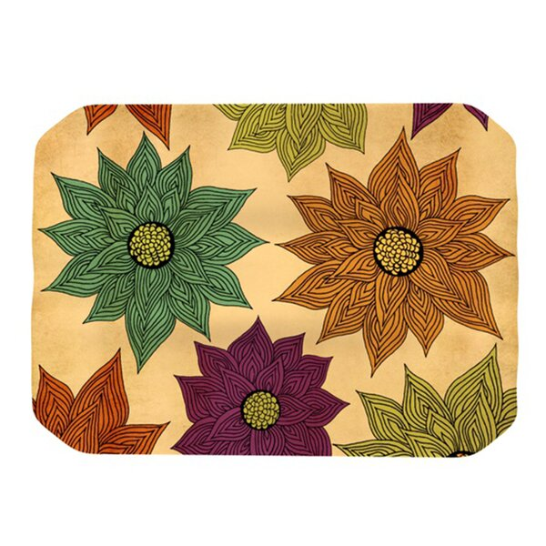 Color Me Floral Placemat by KESS InHouse