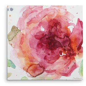 'Bold Blush II' Painting Print on Wrapped Canvas by Andover Mills