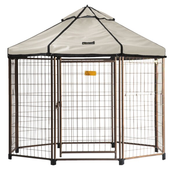 Indiana Pet Gazebo Canopy Yard Kennel by Tucker Murphy Pet