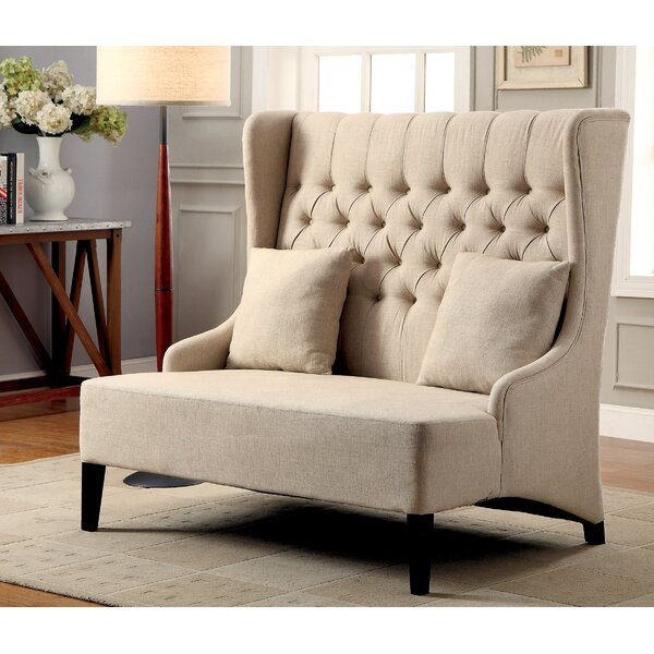 Oakwood Upholstered Bench by Canora Grey