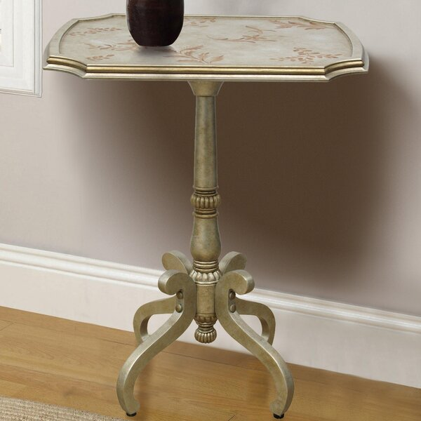 Roye Hand Painted Wooden End Table by Astoria Grand
