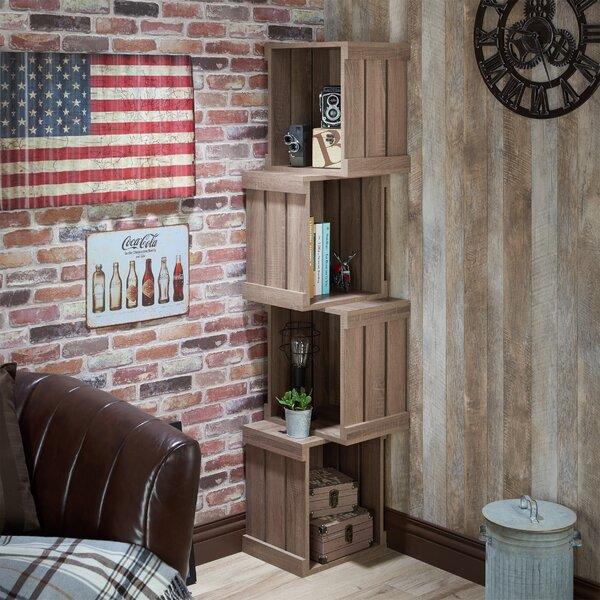 Echeverria Corner Unit Bookcase by Laurel Foundry Modern Farmhouse